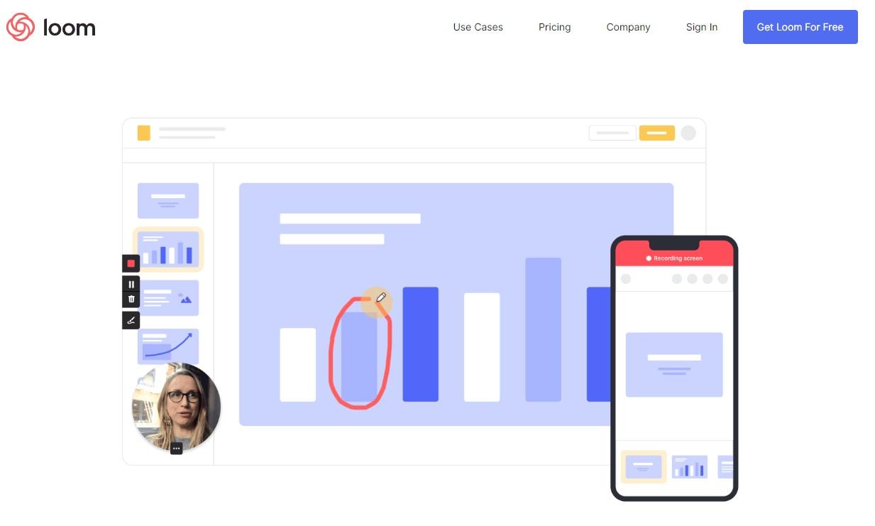 Loom Example Screenshot