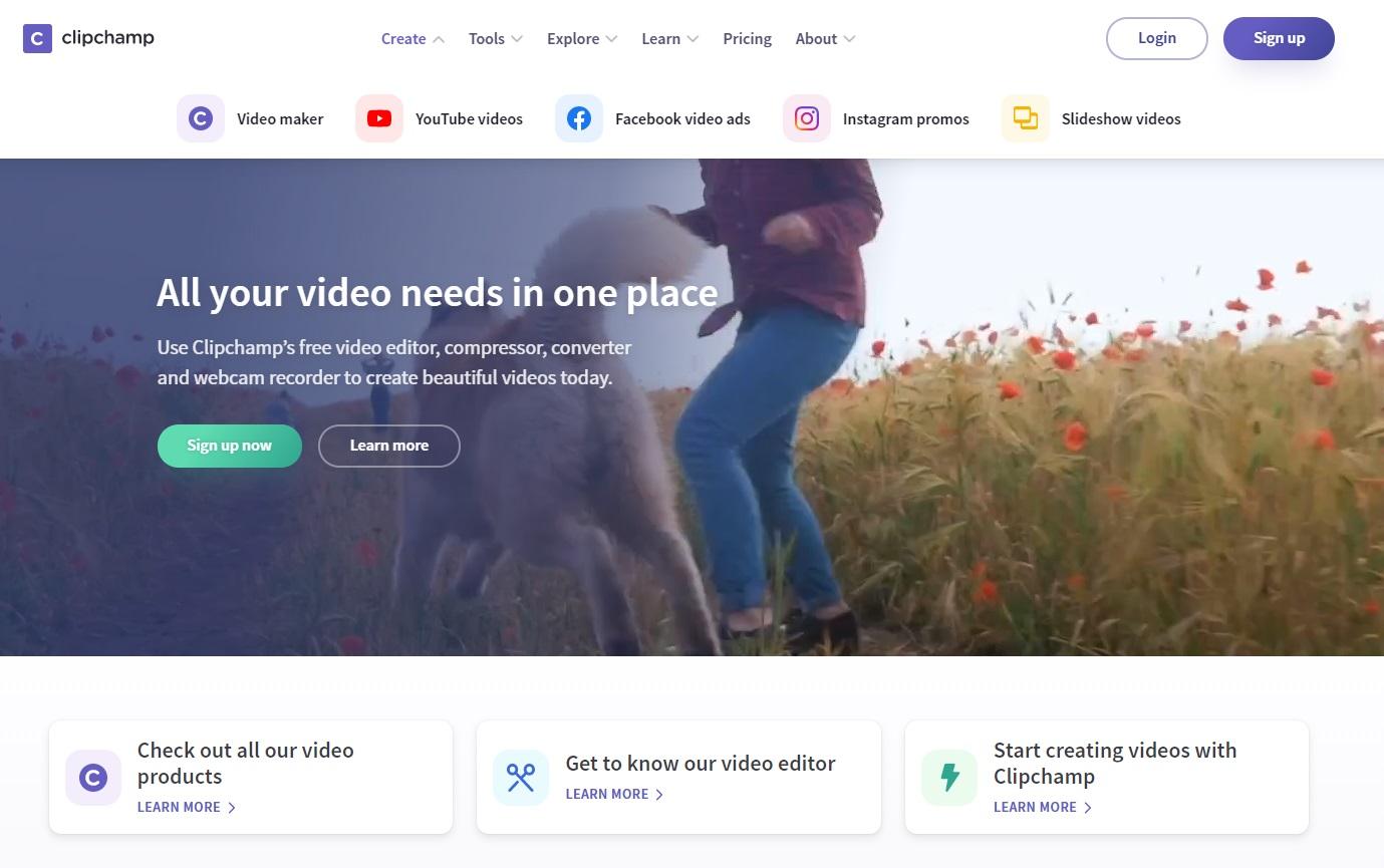 助你數碼營銷的5個影片製作工具 - ClipChamp