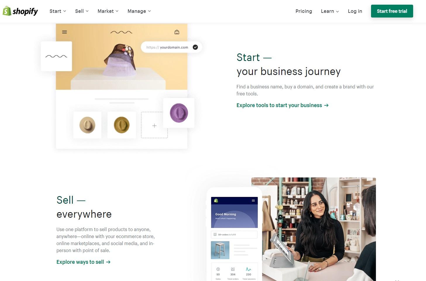 Shopify官方網站