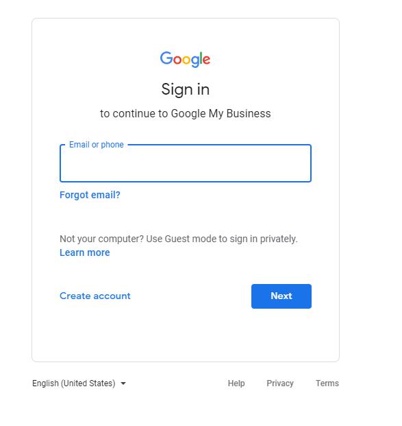 【搜索結果頂位:8步設立Google My Business】Google My Business 我的商家 - 登入Google
