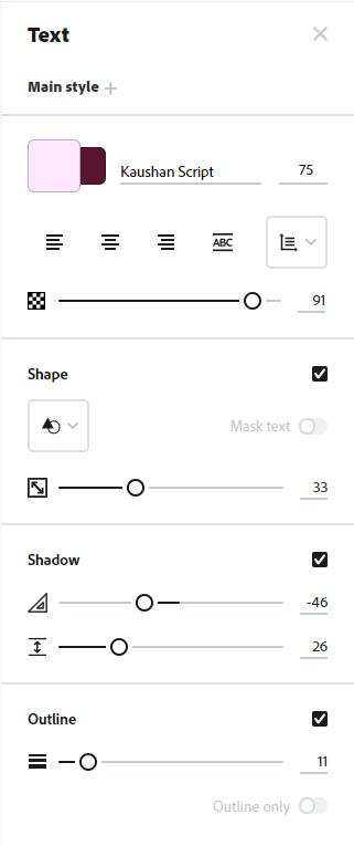 熱門平面設計平台:Canva還是AdobeSpark更適合你? - AdobeSpark Typography
