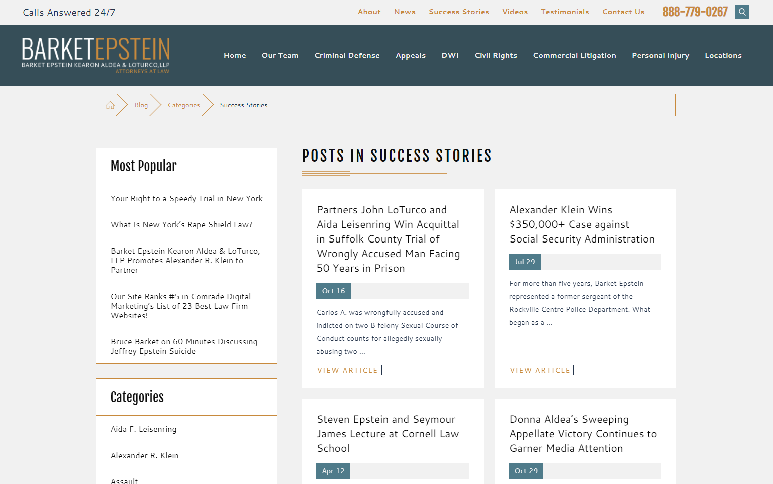 How to attract clients with your law firm website? - Success Stories