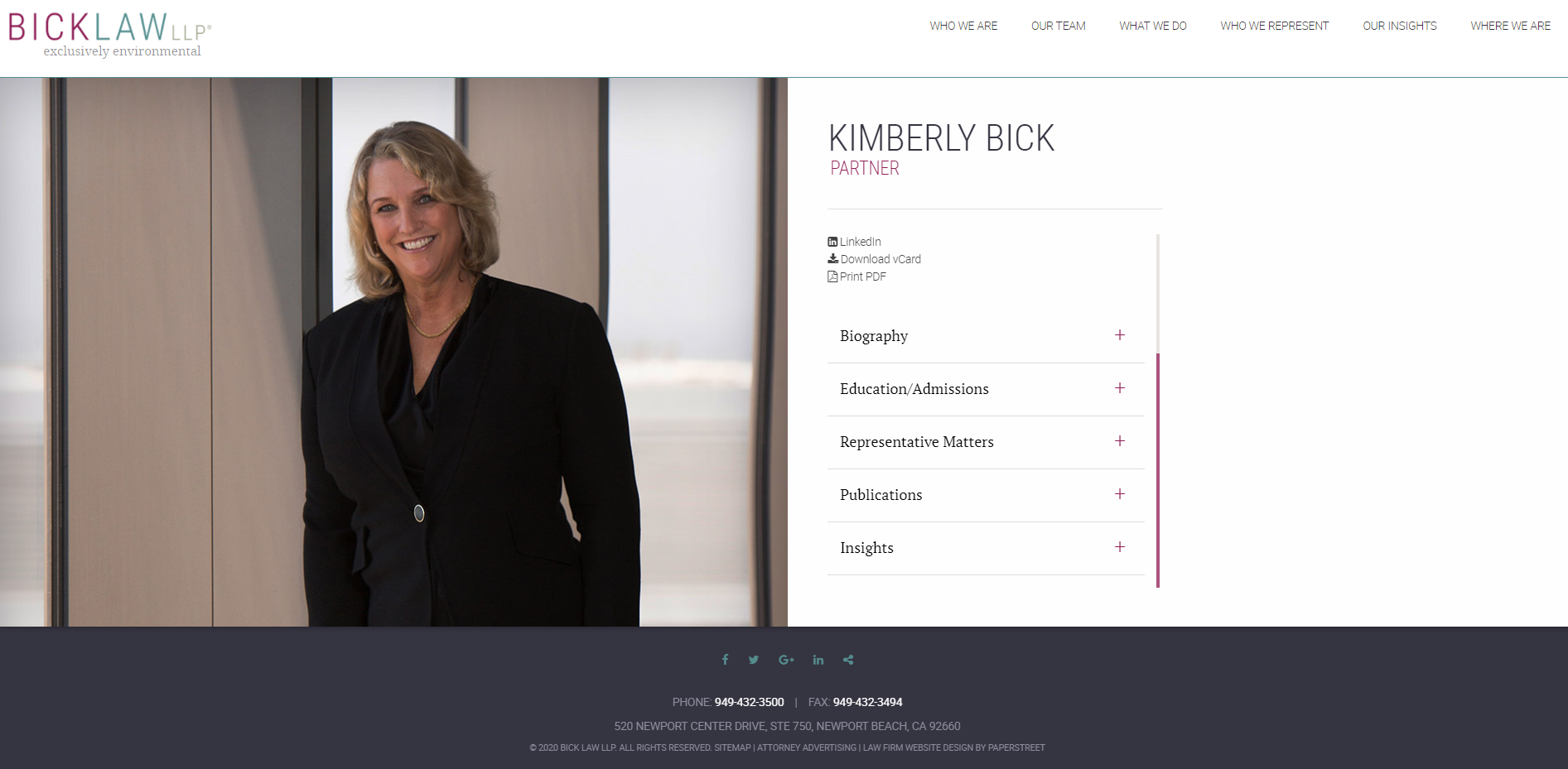 How to attract clients with your law firm website? - Profiles